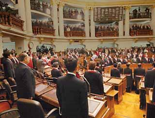 Congreso asalta caja fiscal