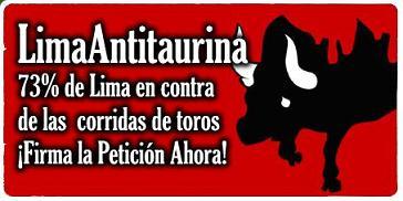 ¡VICTORIA! SUBE A 72.7% RECHAZO A CORRIDAS DE TOROS EN LIMA